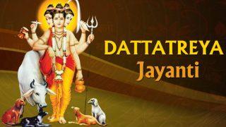 Dattatreya Jayanti 2017: Date, Significance and Story Behind Margashirsha Purnima or Dutta Jayanti