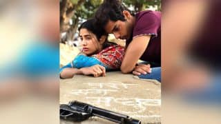 Dhadak's New Still With A Sad Janhvi Kapoor, Tense Ishaan Khatter And A Loaded Gun In The Picture Has Us Intrigued