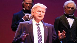 Disney Unveils Donald Trump Robot But Twitterati Think It's Either Jon Voight or Hillary Clinton
