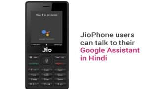 Google For India: JioPhone to Get Google Assistant Feature in Both English and Hindi