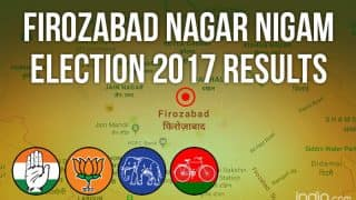 Firozabad Nagar Nigam Election 2017 Results News Updates: BJP's Nutan Rathod Registers Thumping Victory in Mayoral Polls