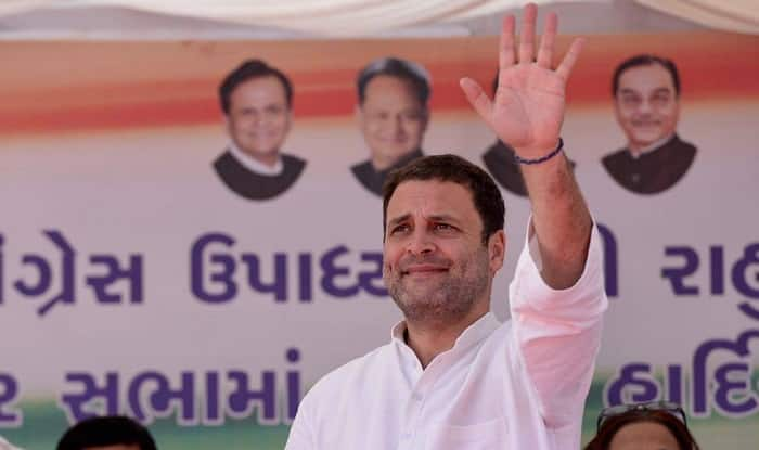 Rahul slams BJP over 'changing' Constitution