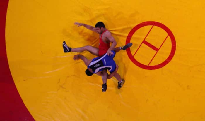 Sushil wins gold at Commonwealth wrestling