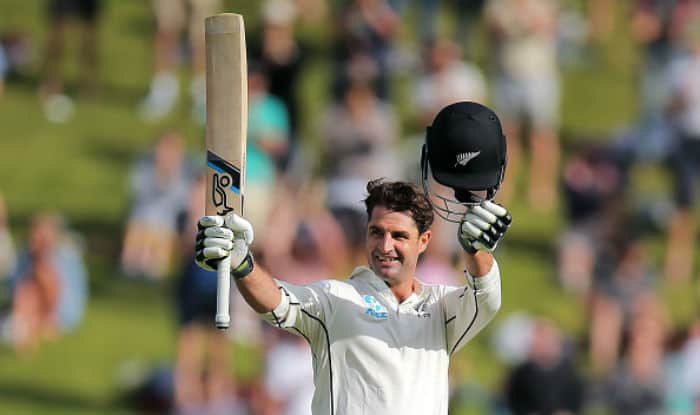 Wellington Test: Grandhomme's maiden ton stretches Kiwis' lead