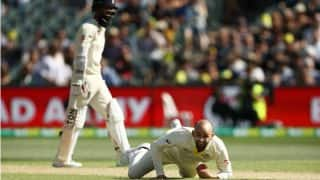 Ashes, Australia vs England 2nd Test: Nathan Lyon Takes a Blinder to Dismiss Moeen Ali (Watch Video)