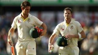 Ashes 2017/18 Australia vs England: Steven Smith, Mitchell Marsh Triple Century Stand Puts Hosts in Control