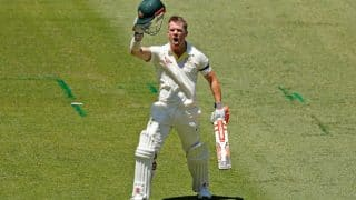 Ashes 2017/18: David Warner Century Puts Australia in Decent Position on The Opening Day of Melbourne Test