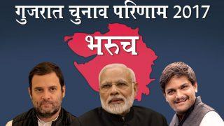 गुजरात चुनाव नतीजे LIVE: भरुच जिले के सभी सीटों के नतीजे यहां देखें