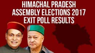 Zee News Exit Poll Results For Himachal Pradesh Assembly Elections 2017: BJP Likely to Form Next Govt With Big Win, Congress May Face Heavy Defeat