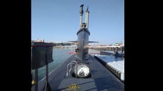 INS Kalvari Commissioning Video: Watch PM Narendra Modi Commission India's First Scorpene Submarine Into Indian Navy