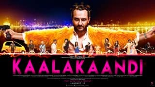 Kaalakaandi New Poster: Saif Ali Khan Is Going To Be The Ringmaster Of This Dark Comedy