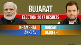 Khambhat, Borsad, Anklav, Umreth Election 2017 Results News Updates: Congress' Amit Chavda Wins From Anklav