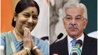 Pakistan Minister Writes to Sushma Swaraj, Alleges Increase in Ceasefire Violation by Indian Forces