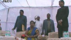 मेरठः वंदे मातरम के दौरान बैठी रहीं बीएसपी की मेयर, बीजेपी का हंगामा