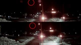 Watch Video of Fireball in the Sky Over Belmont, Massachusetts Captured by Motorist