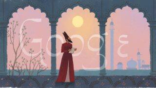 Mirza Ghalib 220th Birthday: Google Honours The Mughal Era Poet With a Doodle