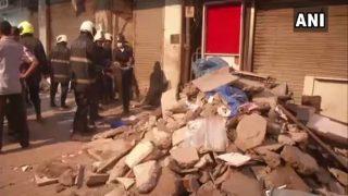 Mumbai Zaveri Bazaar Building Collapse: 2 Dead, 2 Still Feared Trapped; Rescue Operations Continue