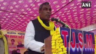 बीजेपी सरकार में कैबिनेट मंत्री राजभर ने लोगों से कहा- 'यूपी में शराबबंदी के खिलाफ एकजुट हो जाएं, मैं हाहाकार मचवा दूंगा'