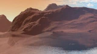 Basalt Rocks Responsible For Disappearnce of Water on Mars, Concludes University of Oxford Study