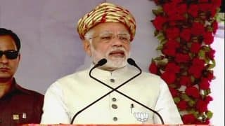 Gujarat Assembly Elections 2017: PM Narendra Modi to Address Four Rallies Today