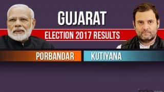 Porbandar, Kutiyana Election 2017 Results News Updates: BJP Wins Porbandar, Congress Wins Kutiyana