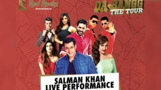 Dabangg Tour Delhi: Salman Khan, Kriti Sanon, Sonakshi Sinha, Daisy Shah, Prabhu Deva Getting Ready To Set The Stage On Fire (Videos)