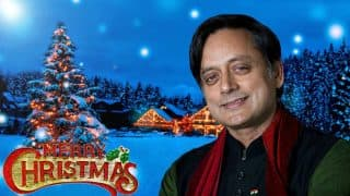 Shashi Tharoor Wishes Everyone 'Merry Christmas' But Twitterati is Upset