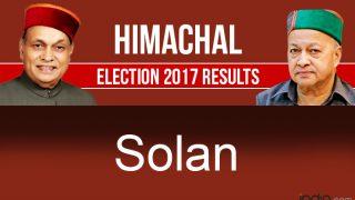Himachal Pradesh Assembly Elections 2017 Results: Congress Wins Arki, Solan, Nalagarh, BJP Bags Kasauli, Doon