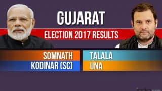 Gujarat Elections Results 2017: Congress Sweeps Gir Somnath Distrcit, Wins Somnath, Talala, Kodinar And Una Seats