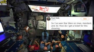 Twitter Reacts After NASA Astronauts Watch 'Star Wars: The Last Jedi' In Space