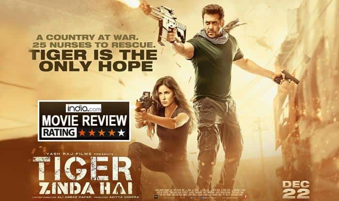 Tiger Zinda Hai Movie Review: Salman Khan Channels His Inner Rambo In This Fictional Yet Riveting Account OfA Real Life Incident