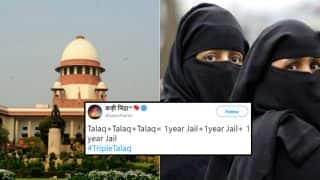 Triple Talaq Is Now A Criminal Offence And Twitterati Hails The Decision