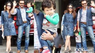Taimur, Saif Ali Khan, Kareena Kapoor Khan And Others At Shashi Kapoor's Residence For Christmas Lunch (View Pics)