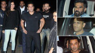 Salman Khan Parties With Dhoni, Mouni Roy And His Tiger Zinda Hai AndRace 3 GangAt His Panvel Farmhouse