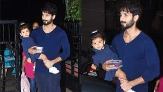 Shahid Kapoor Spends An Evening At The Park With Baby Misha; Gives Us All New Relationship Goals
