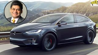 Watch Video of India's First Tesla; Car Owned by Essar Group's Prashant Ruia in Mumbai
