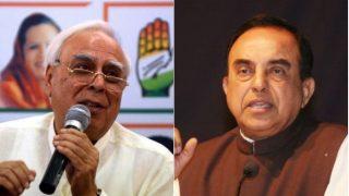 Babri Masjid-Ram Mandir Dispute: Kapil Sibal Appears For Sunni Waqf Board in Ayodhya Case; Congress, BJP Spar