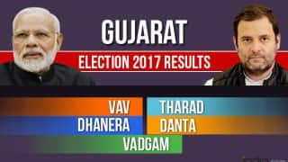 Vav, Tharad, Dhanera, Danta, Vadgam Election 2017 Results: Counting For Vidhan Sabha Seats in Gujarat Underway