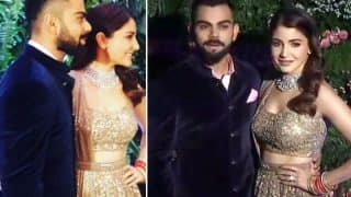 Virat Kohli – Anushka Sharma Mumbai Reception: The Couple Looks Like A Match Made In Heaven As They Pose For The Shutterbugs - View Pics