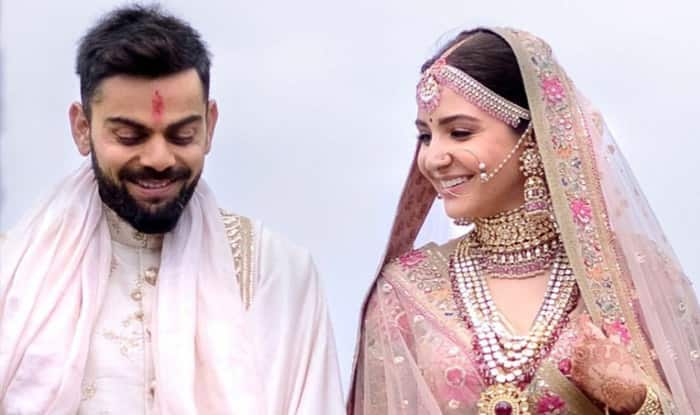 Image result for virat kohli & anushka sharma wedding photos