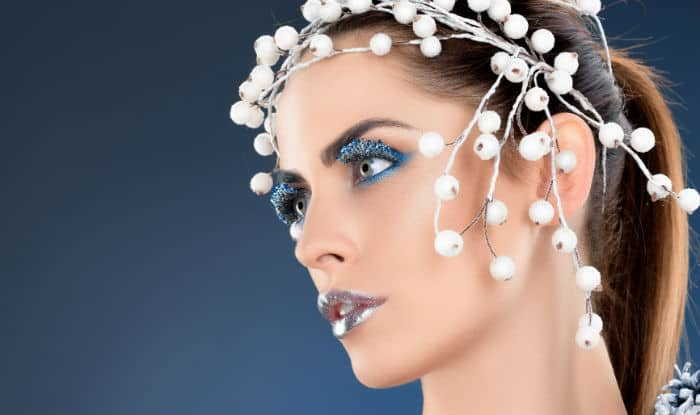 Image result for MAKEUP AT WINTER SEASON