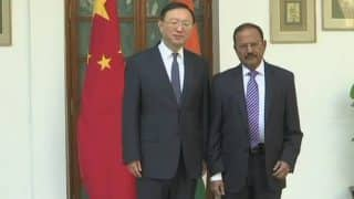 NSA Ajit Doval Meets Chinese State Councillor Yang Jiechi to Discuss Boundary Issues