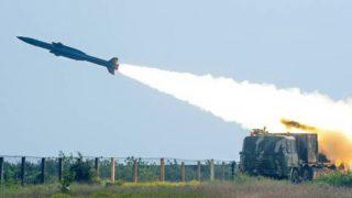 हवा में मार करने वाली देश में विकसित मिसाइल 'आकाश ' का सफलतापूर्वक परीक्षण