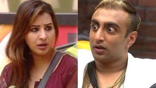 Bigg Boss 11: Akash Dadlani Kisses Shilpa Shinde Without Her Permission, Actress Shocked - Watch Video