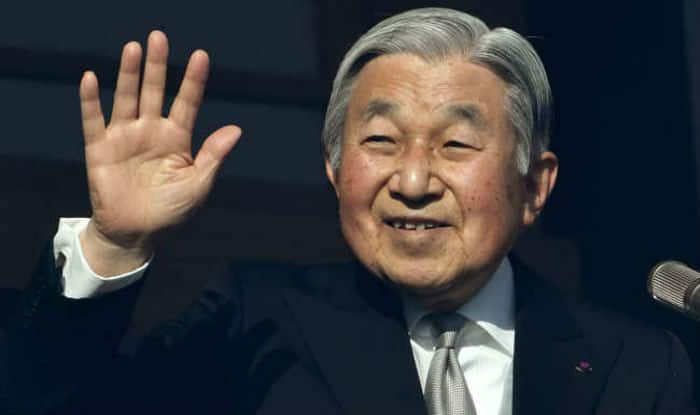 Japanese emperor Akihito says he will abdicate in 2019