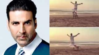 Watch: This Is How Akshay Kumar Celebrated At The Beach After Wrapping Gold