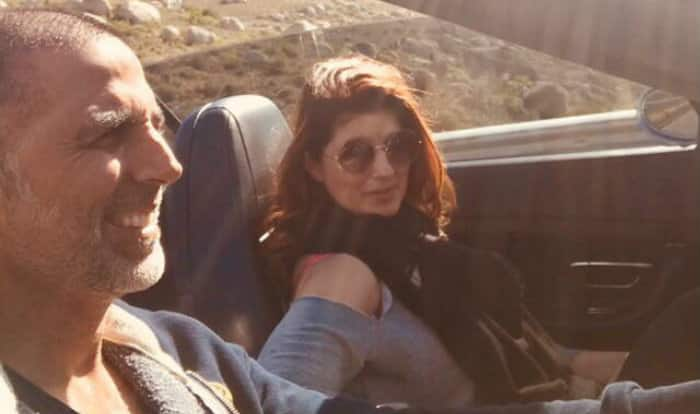 Akshay Kumar and Twinkle Khanna's candid pictures