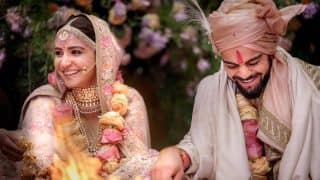 अनुष्का शर्मा और विराट कोहली की शादी की पहली तस्वीर आई सामने