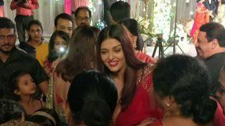 Aishwarya Rai Bachchan's Infectious Smile Pulls Crowd In A Wedding (Watch Video)