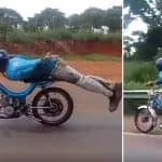 Young Daredevil Pulls off Superman Stunt on Highway, Gets Arrested After Video Goes Viral